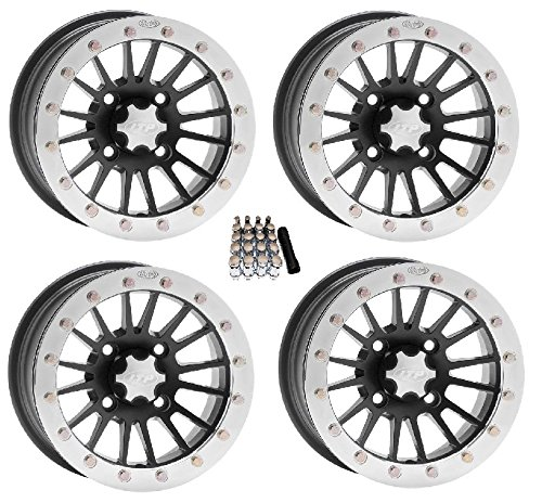 (ITP SD Dual Beadlock UTV Wheels/Rims Black 14