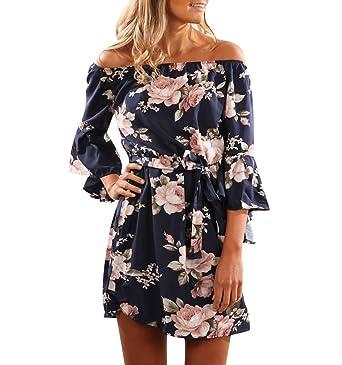 Kleid mit blumen kurz