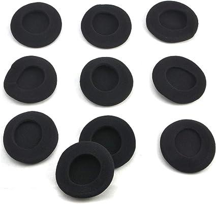 10x 5cm Foam Earpads Cover Cushion Sponge Cover Replacement Ear Cup Earphone B$T