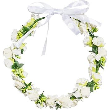 Blumenkranz Blumen Haarkranz Hippie Haar Kranz Hochzeit Kopfkranz