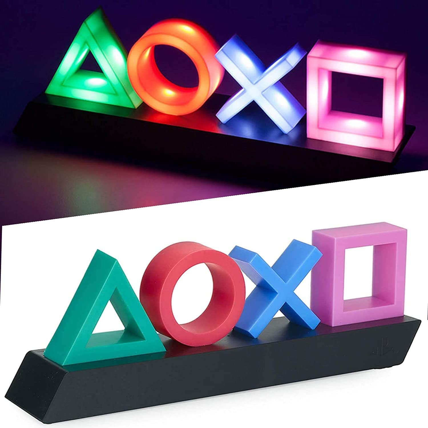 Yimimam Playstation Sign Game Icon Light Acrylic Atmosphere Neon Bar Lamp Bar Home Decorative Ornament Gaming LED Light
