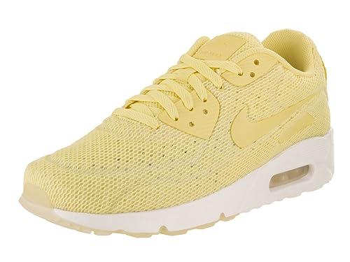 Zapatillas Nike - Air Max 90 Ultra 2.0 Br amarillo/amarillo/blanco talla: 42,5: Amazon.es: Zapatos y complementos
