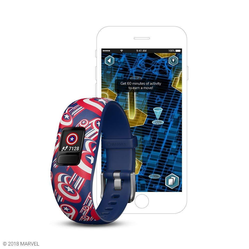 Garmin vívofit jr 2, Kids Fitness/Activity Tracker, Star Wars BB-8, 1-year Battery Life (Renewed)