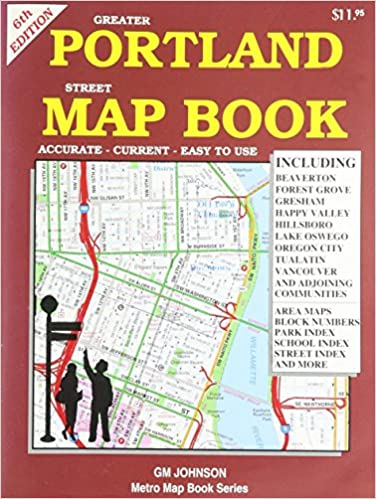 Book Greater Portland Street Map Book GMJ