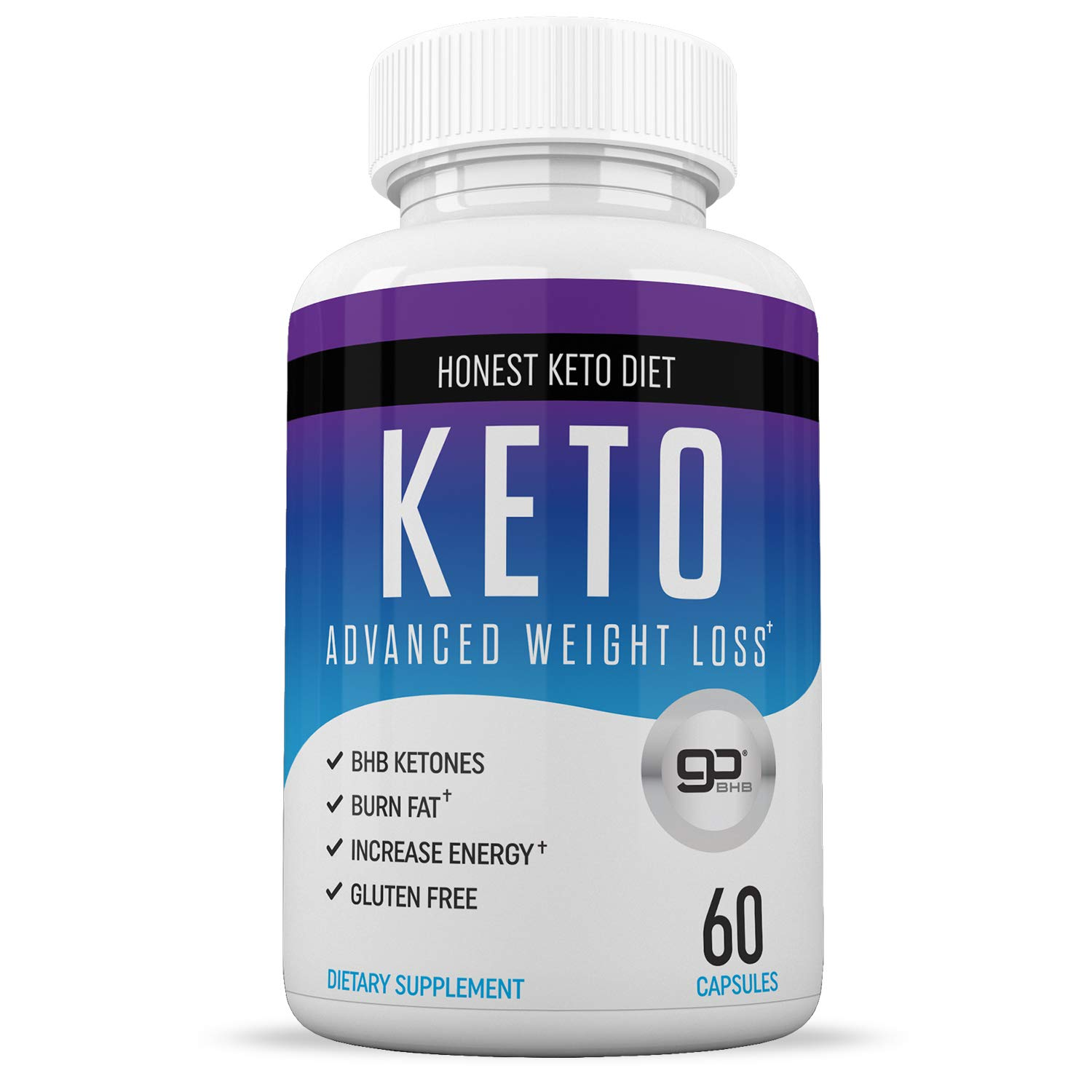Honest Keto Diet Pills for Weight Loss – Helps Block Carbohydrates – Weight Loss Supplement for Women Men – Burn Fat Instead of Carbs – BHB Salts – 60 Capsules