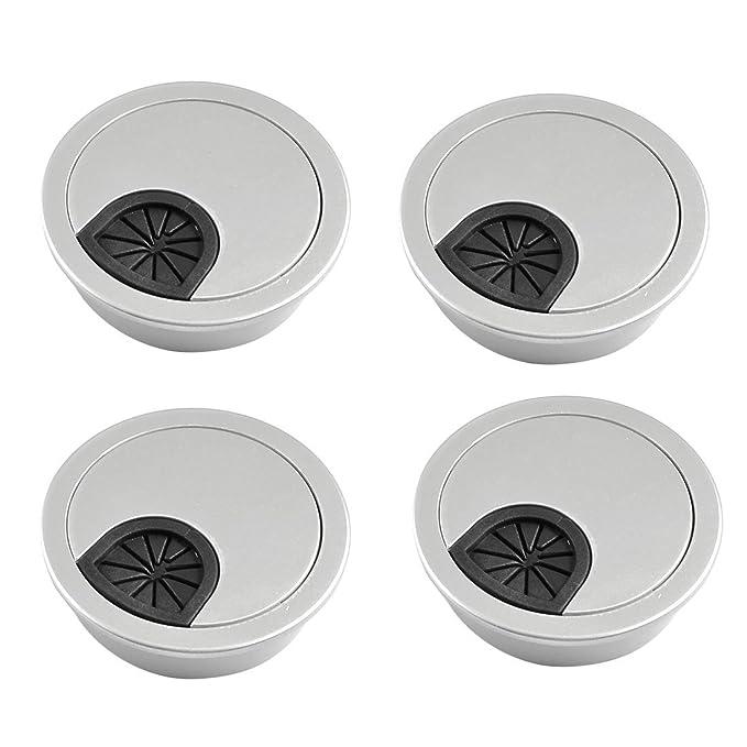 Pasacables de escritorio - TOOGOO(R) 4pzs Cubierta de agujero de ...