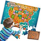 Best United States Gifts Adults - US Floor Map Puzzle - Best USA Puzzle Review