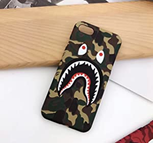"Keklle iPhone 7 4.7"" Case, A Bathing Ape (Bape) Slim Protective Premium Hard Case for iPhone 7 (Green Camo)"