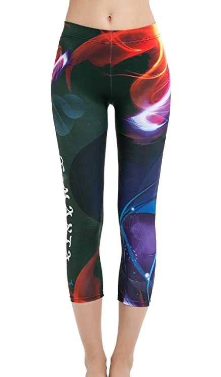 12874f3c7 Dive & Sail Women's Full Length Surfing Leggings UPF 50+ Sun Protection  Swim Tights With