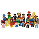 CP Toys 20 pc. Posable People for Preschool-sized Building Bricks