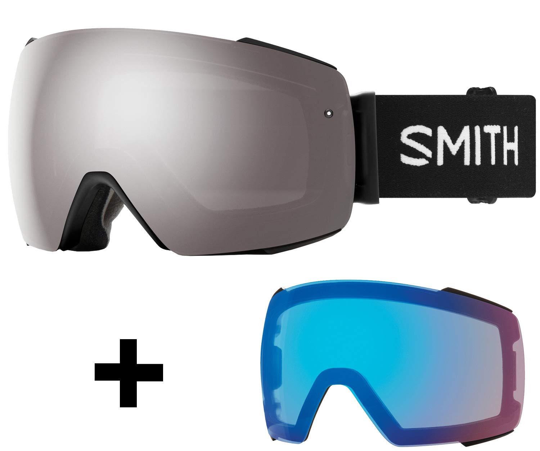 Smith I/O マグスノーゴーグル ブラック Cp Sun Platinum & Cp ストームローズフラッシュレンズ