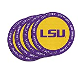 NCAA LSU Tigers Neoprene Ring of Honor Coasters, Set of 4