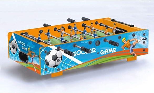 Garlando Futbolín Mini Soccer Azul: Amazon.es: Juguetes y juegos