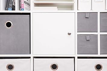Arbeitszimmer ikea expedit  Abschließbare Tür für Ikea Kallax Regal (Passt Auch für Expedit ...