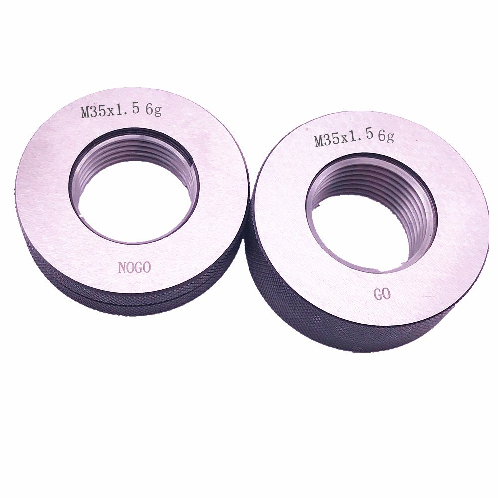 Metric Thread Ring Gage 6g GO NOGO 100/% Calibrated ship by Fedex Delivery in 4 days M6 x 1