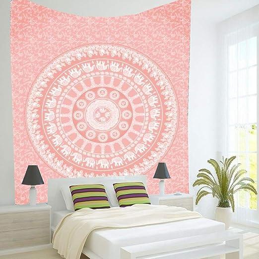 Tapiz Dormitorio Colgando Tela Flor hogar Mural Cortina W ...