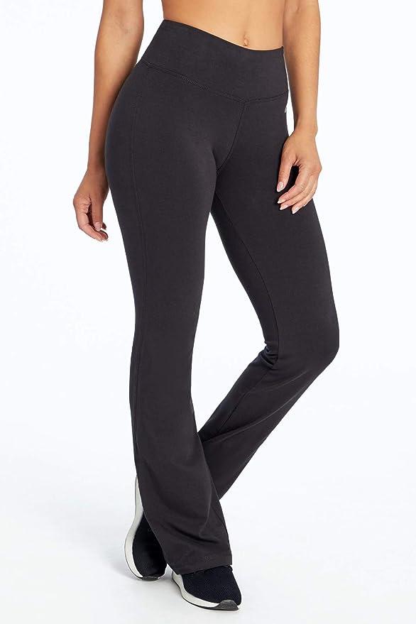 Marika Womens Audrey Tummy Control Long Pants, Black, Small ...