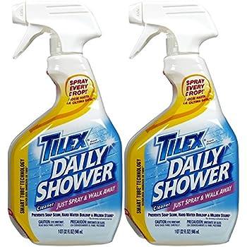 Beau Tilex Shower Spray   32 Oz   2 Pk
