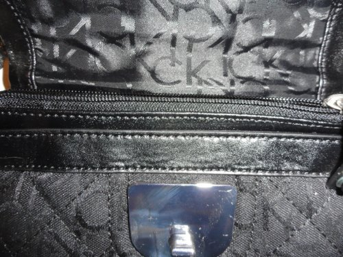 Women's Calvin Klein Purse Handbag Crossbody Black