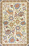 Momeni Rugs SPENCSP-22BGE3656 Spencer Collection, 100% Wool Hand Hooked Traditional Area Rug, 3'6″ x 5'6″, Beige Review