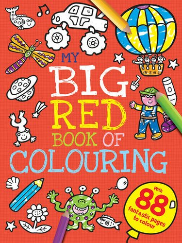 My Big Red Book of Colouring (My First Mega Colouring) pdf epub