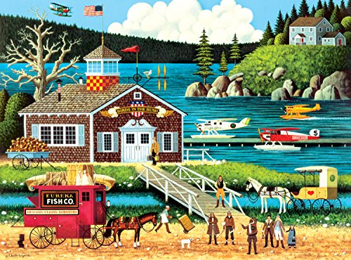 Buffalo Games Charles Wysocki - Birds of a Feather - 1000 Piece Jigsaw Puzzle by Buffalo Games