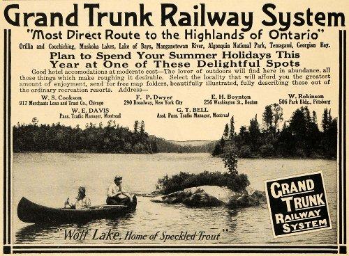 1910-ad-grand-trunk-railway-system-wolf-lake-fish-trout-original-print-ad