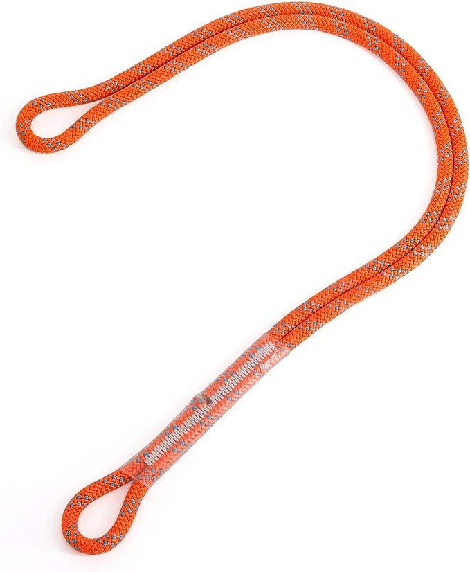 arborista Cable de 6 mm con Bucle de Prusik precurvado para Escalada Resistente al Calor Rappelling Rescue Mountaineering Desconocido Prusik