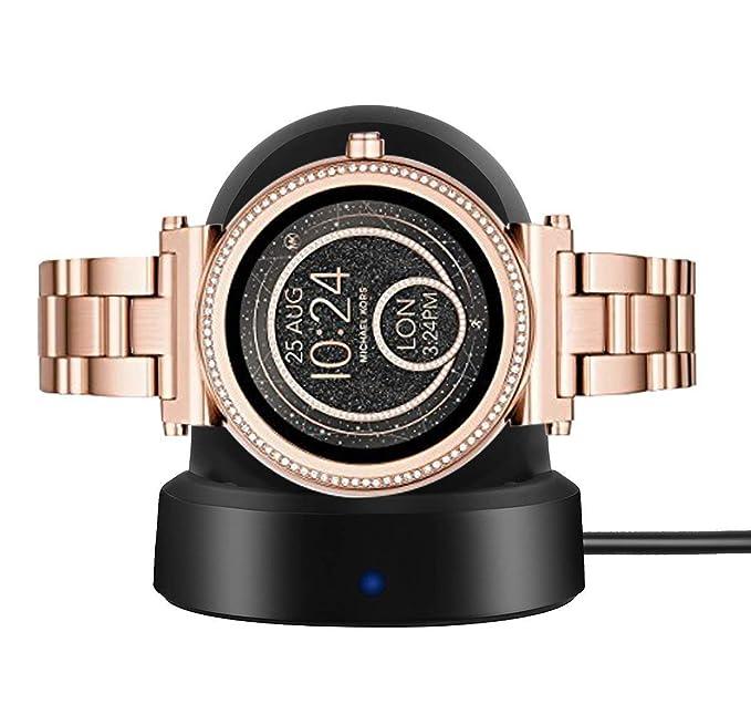para Michael Kors Access Smartwatch Sofie Charger, LvBu ...