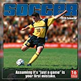 2019 Soccer 16-Month Wall Calendar: by Sellers Publishing, 12 x 12; (CA-0433)