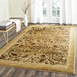 Safavieh Lyndhurst Collection LNH224A Traditional Paisley Beige and Multi Square Area Rug (6′ Square)