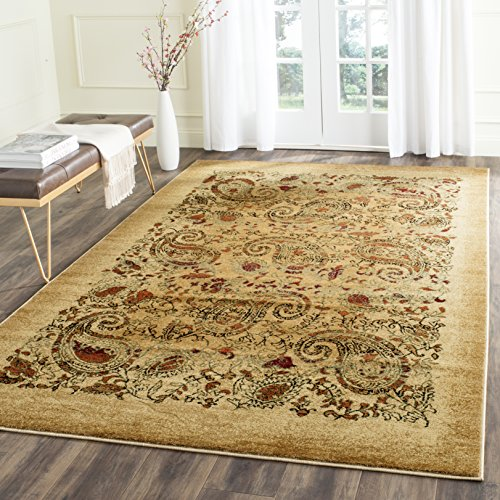 Safavieh Lyndhurst Collection LNH224A Traditional Paisley Beige and Multi Area Rug (4' x 6')