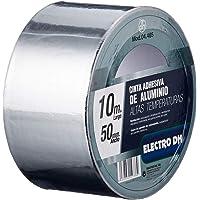 ElectroDH CINTAAL10 plakband, aluminium, 50 mm, rol 10 m
