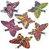 (48) Butterfly Foam Gliders
