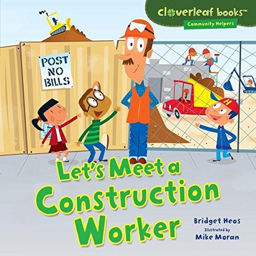Lets Construction Worker Cloverleaf Books ebook product image