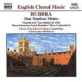 Rubbra: Nine Tenebrae Motets by E. Rubbra (2001-04-17)