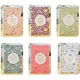 2 X Cosanter Cahier à spirales connecté Notebook Bloc-Notes 160 pages pour Fournitures de Bureau étudiant Couleur aléatoire