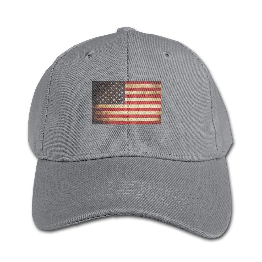 Ejdkdo USA Flag Pure Color Baseball cap Cotton Adjustable Kid Boys Girls Hat Multicolor88