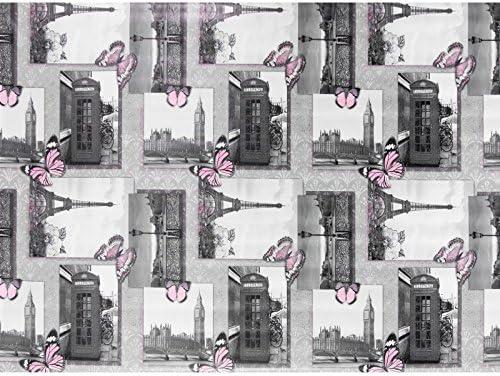 Hule, mantel encerado para mesa, lavable, diseño de Londres y ...