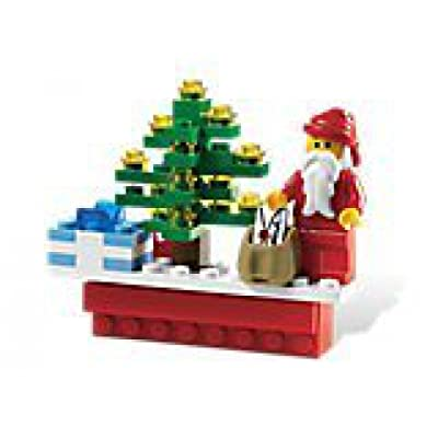 LEGO Holiday Christmas Scene Magnet 853353: Toys & Games
