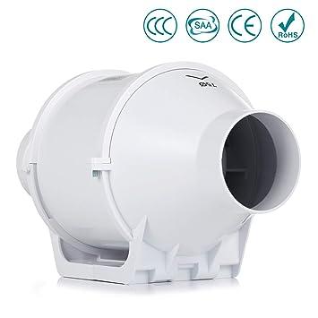 Lüftung Küche | Inline Lufter Hon Guan 75mm Abluftventilator Hochleistungs Inline