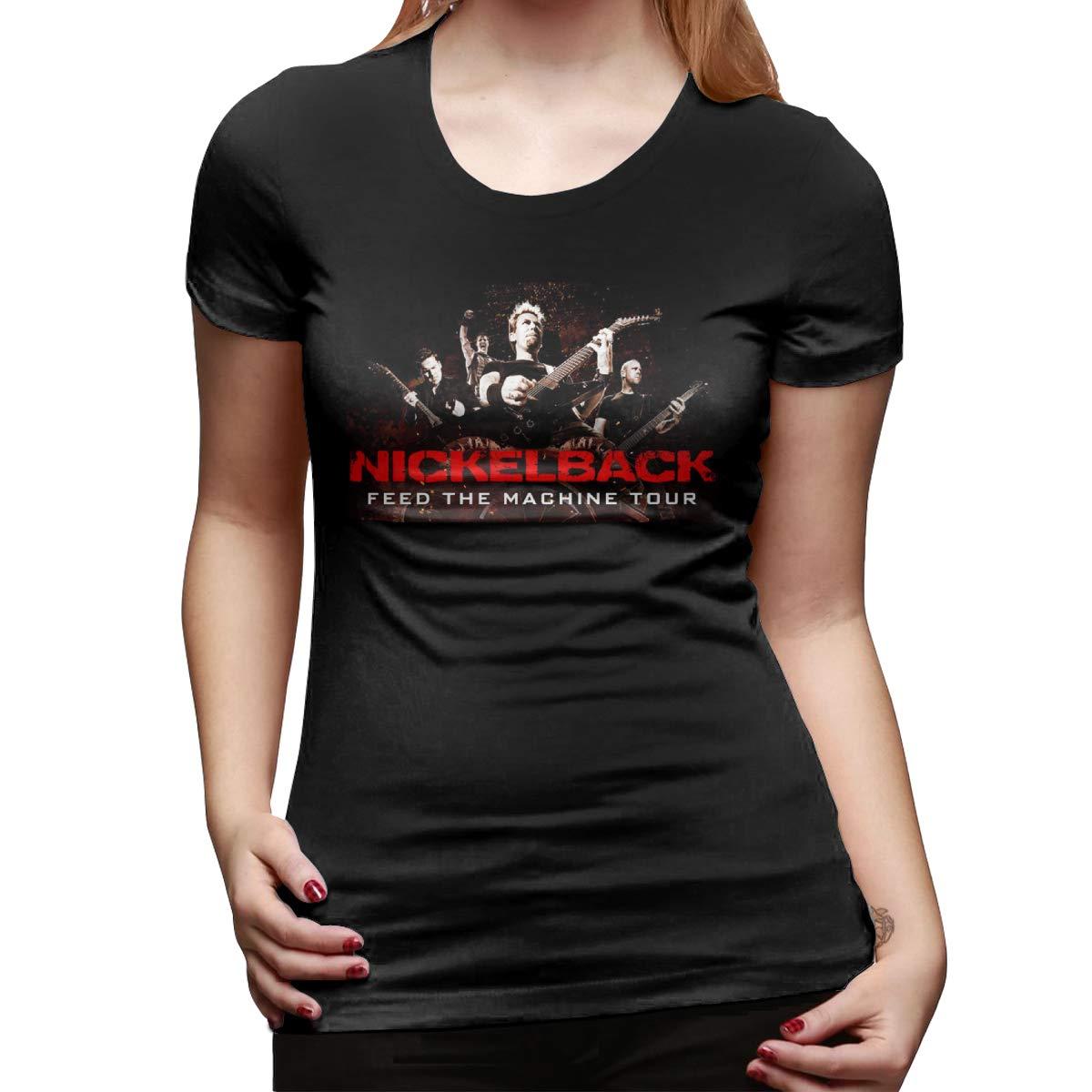 Alwaysuv Logo Of Nickelback Short Sleeve Tees Shirts