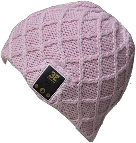 Be Headwear Bluetooth Wireless Headphone Speaker Microphone Beanie Hat Luv Spun Knit