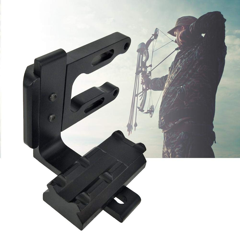 Zer one Archery Bow Sight Bracket Sight Mount Bracket Caccia Accessorio Compound Arco Ricurvo Alluminio Bow Scope Mount DOT Scope