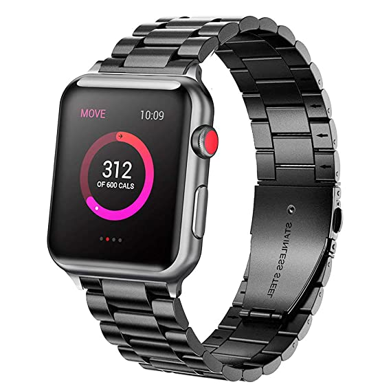 96a4b878da9 Ayeger Band Compatible with Apple Watch 44mm 42mm Series 4 Series 3,Series  2,