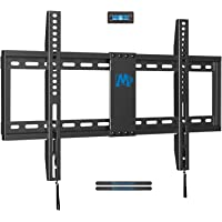 "Mounting Dream TV Mount Fixed for Most 42-70 Inch Flat Screen TVs, TV Wall Mount Bracket up to VESA 600 x 400mm and 132 lbs - Fits 16""/18""/24"" Studs - Low Profile and Space Saving MD2163-K"