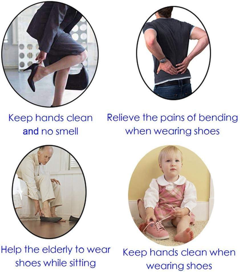 12 Inch Long Shoe Horn Shoehorn Stainless Steel Shoe Horn for Men Women Kids 12 Heavy Duty Shoe Helper Stick Metal Shoe Horn for Seniors 1 Pack
