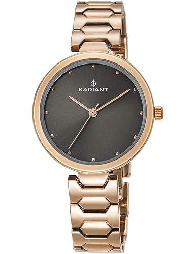 Radiant Reloj Analógico para Mujer de Cuarzo con Correa en Acero Inoxidable RA443202: Amazon.es: Relojes