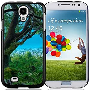 Beautiful Designed Case For Samsung Galaxy S4 I9500 i337 M919 i545 r970 l720 Phone Case With Top 10 Wallpapers of 2013 By Bing 02 Phone Case Cover