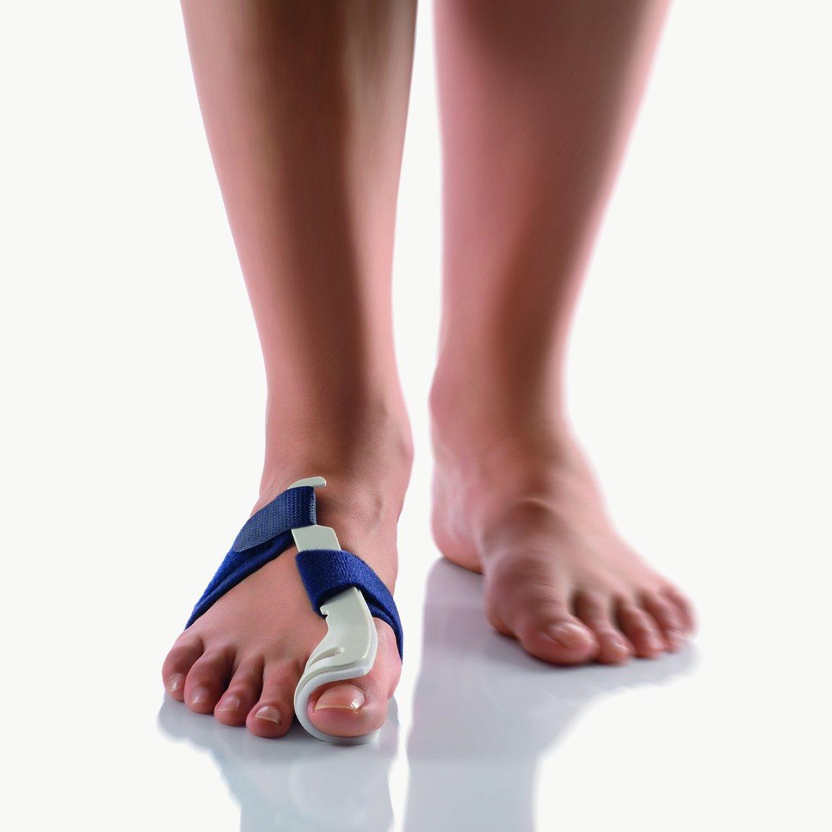 BORT Valco® Hallux Valgus Bunion Night Splint Bunion Corrector Bunion Splint Big Toe Straightener Hammertoe Hallux Valgus Foot Pain Relief Compare to Valguloc Bunion Splint Large, Right